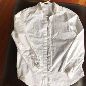 Everlane button down shirt size medium white